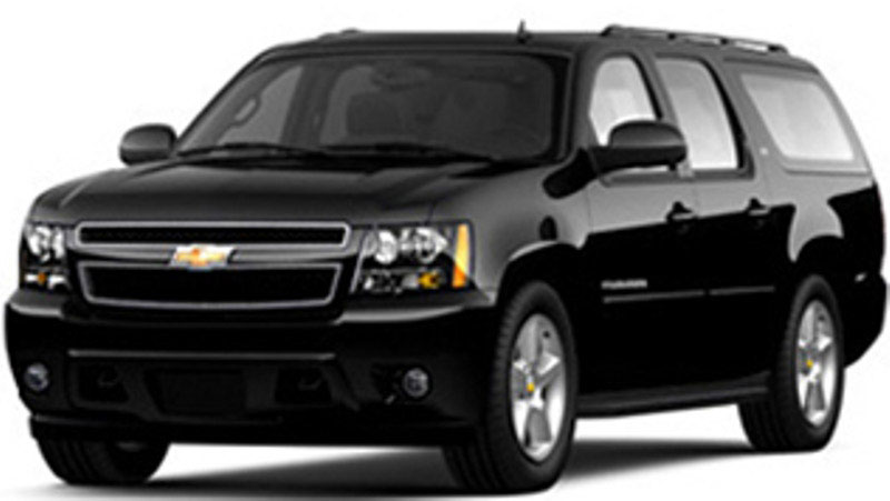 Ace Limousine Charter Bus Chevy Suburban Suv
